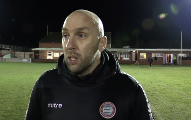 Post Match Interview: Brightlingsea Regent [A] – League