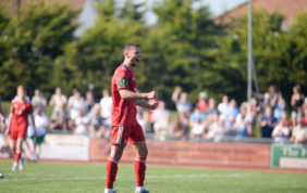 'Role model' Worthing midfielder marks 100th appearance for club