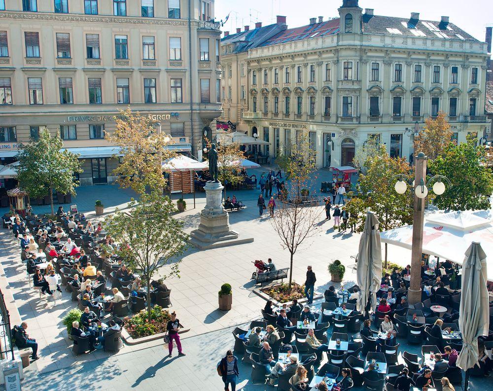 Zagreb Flower Square