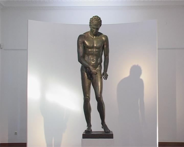 Apoxyomenos Statue