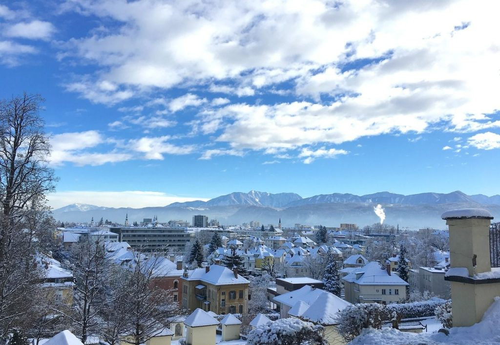 Klagenfurt in the Winter