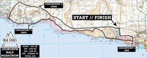 Lulworth Cove 2019 Half Marathon