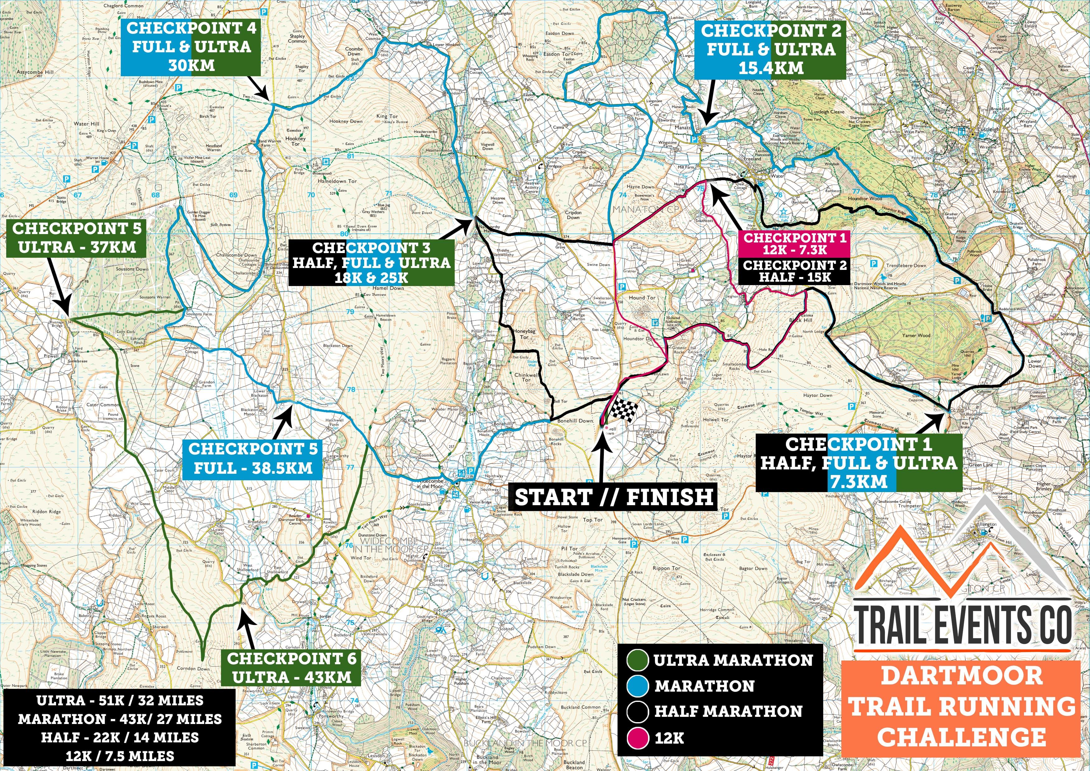 Dartmoor Multi Route