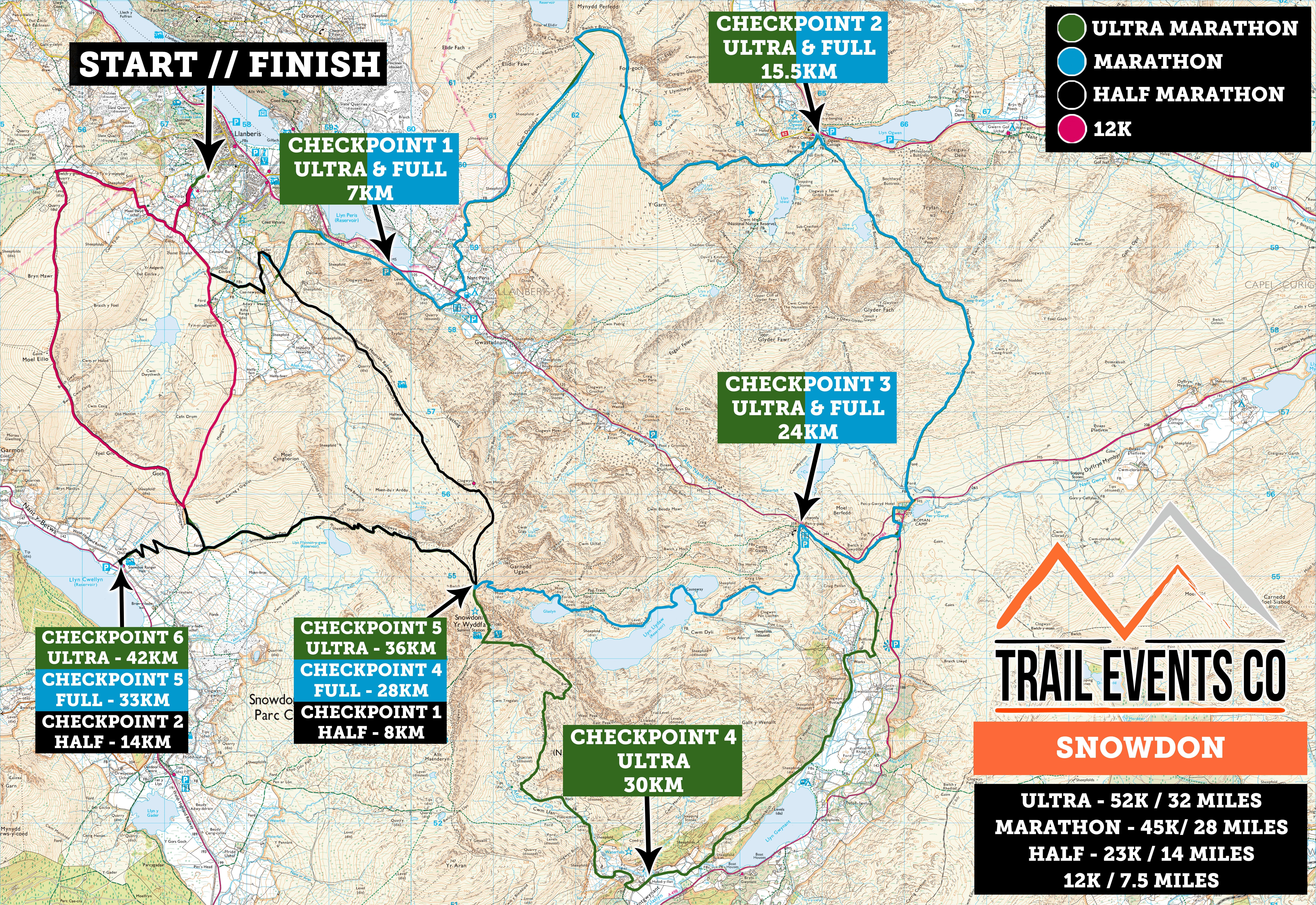 Snowdon Multi Route