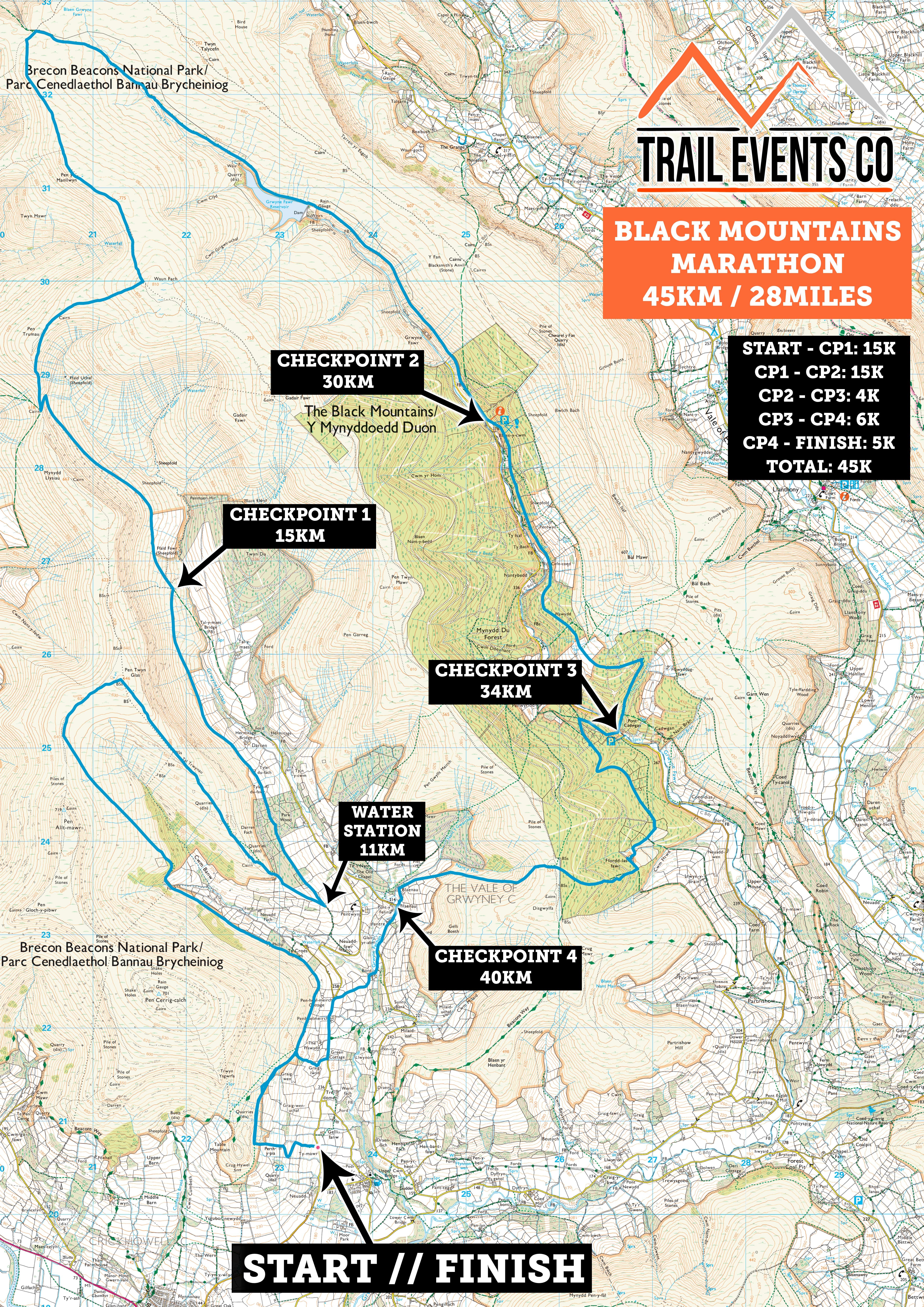 Black Mountains Marathon