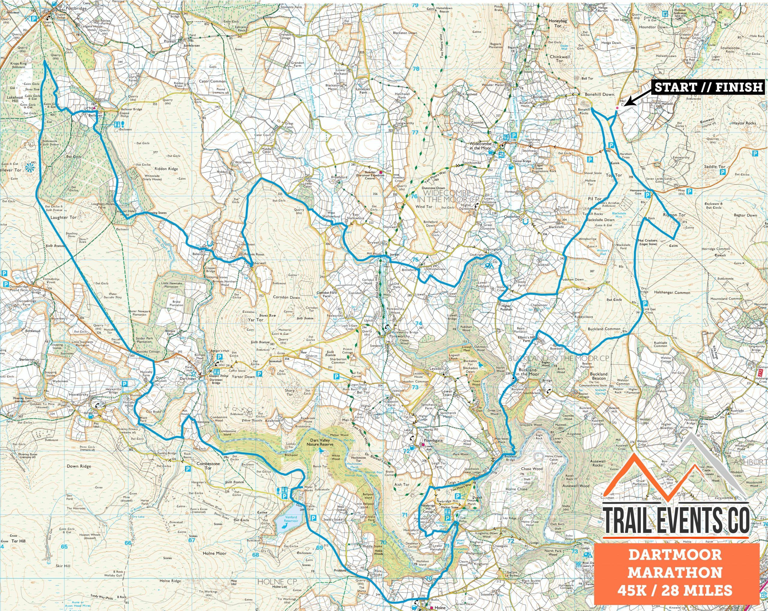 Dartmoor Marathon