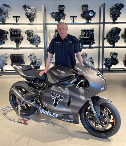 Jeremy Appleton, Triumph Global Racing Manager
