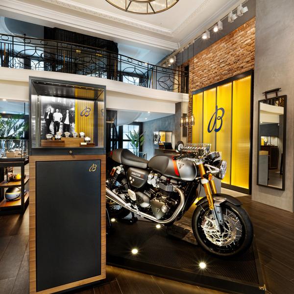 Breitling x Triumph: Breitling Townhouse, London