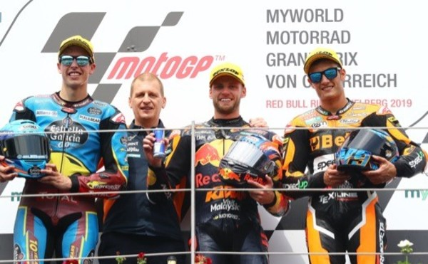 Triumph powers another Moto2™ race winner