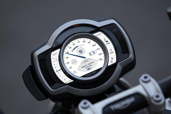 Scrambler1200 Quartz High GoPro