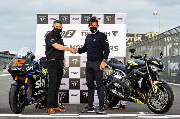 Three More Years: Triumph to power Moto2 from 2022-2024