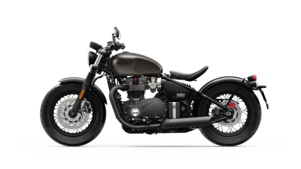 Bobber Black MY20 IRONSTONE LHS