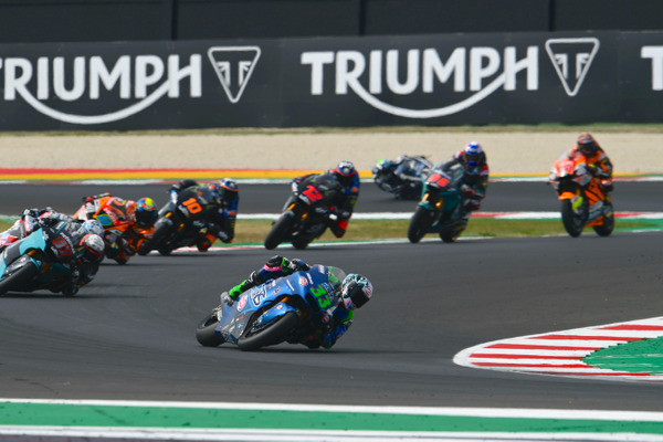 Moto2 Beats The Challenge Of 2020 As Triumph Powers Another Record Breaking Season