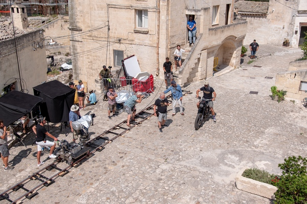 Lee Morrison No Time To Die Behind the Scenes Matera