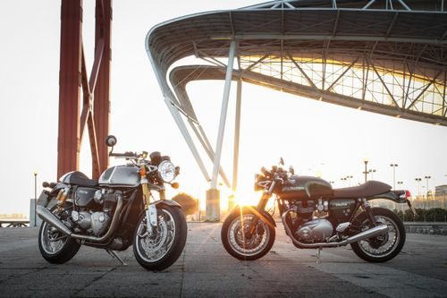 The new Triumph Thruxton R and Thruxton