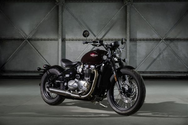 The all-new Bonneville Bobber