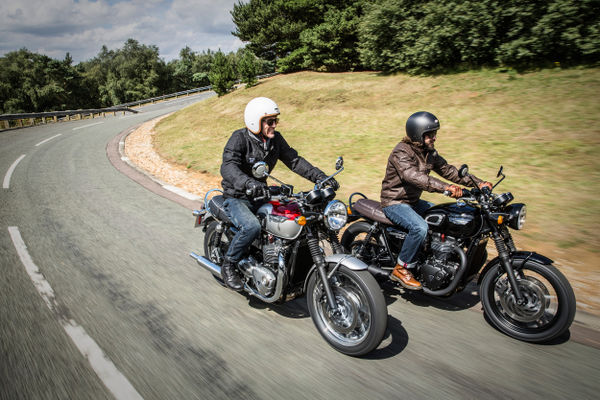Bonneville T120 and T120 Black