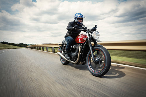 Street Twin - a fun and accessible new Bonneville