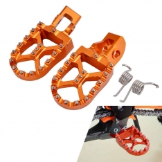 KTM Enduro/MX Bike Foot Pegs