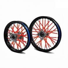 KTM Orange Spoke Wrap Covers