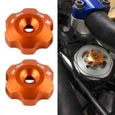 KTM 48MM WP Shock Absorber Adjustment Knobs
