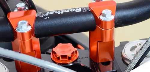 KTM 52mm Handlebar Risers 3