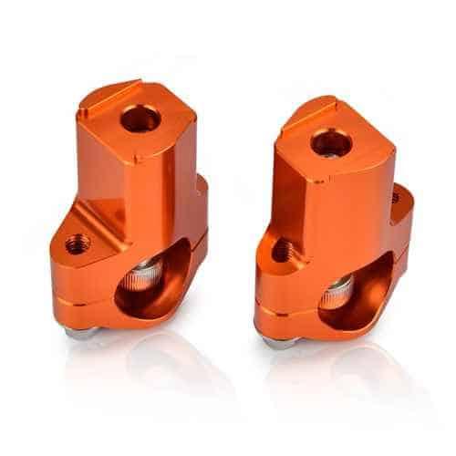 KTM 52mm Handlebar Risers 1