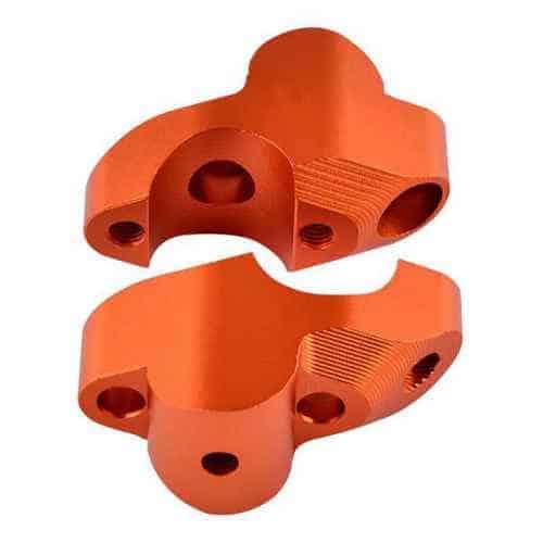 KTM 28mm Handlebar Risers 1