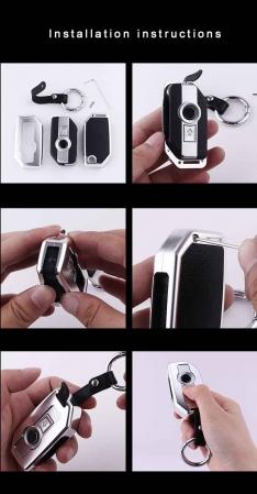 BMW 1250 GS Alluminium Alloy Key Case