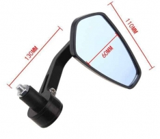 Motorcycle Universal Bar End Mirrors