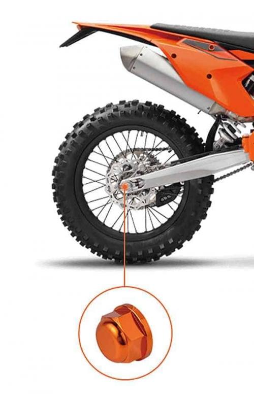 KTM Rear Axle Nut 1