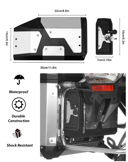 5 – BMW Pannier Storage and Toolbox