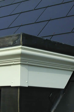 Pre-finished Exterior Cornice