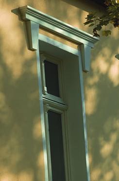 Exterior Pediments