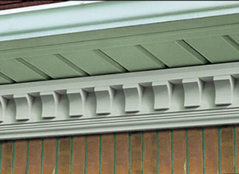 Scalloped Copolymer Cornice