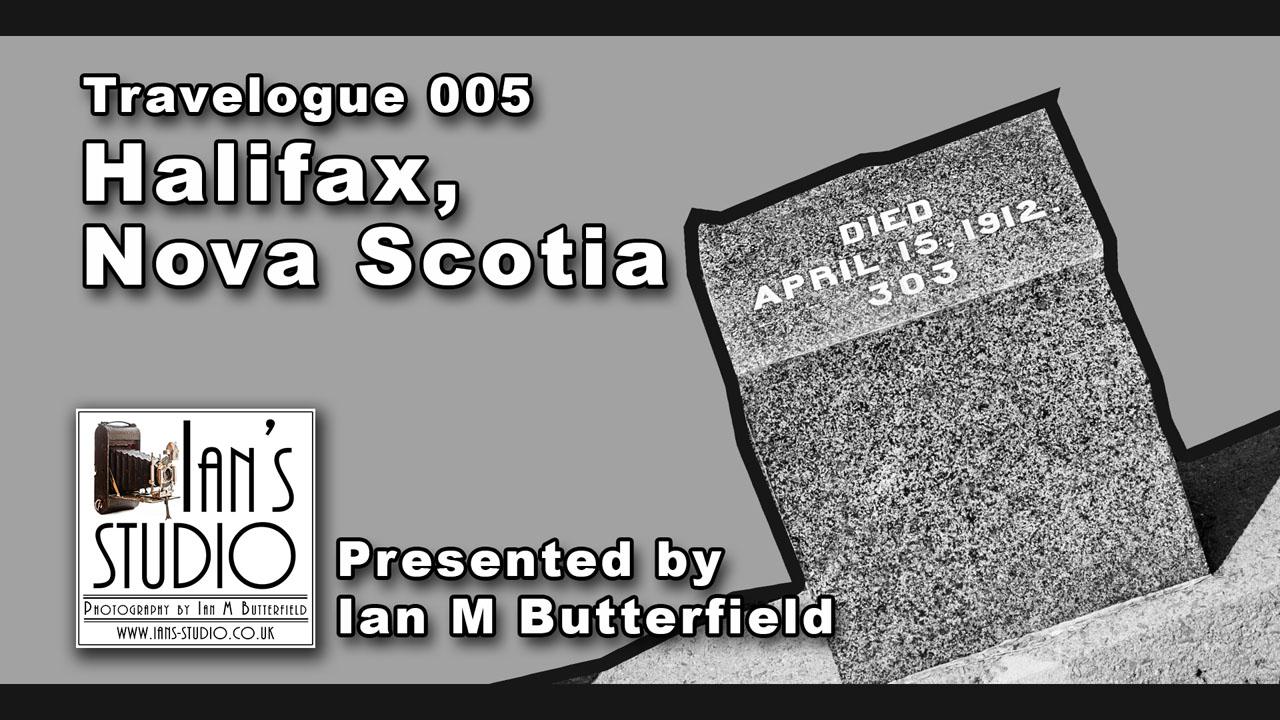 TRAVELOGUE 17 Sep 2015: Halifax, Nova Scotia