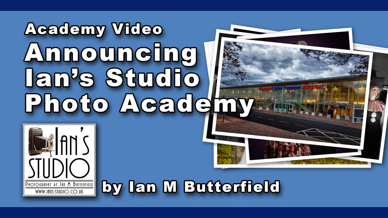 VIDEO Extra: Announcing Ian's Studio Photo Academy