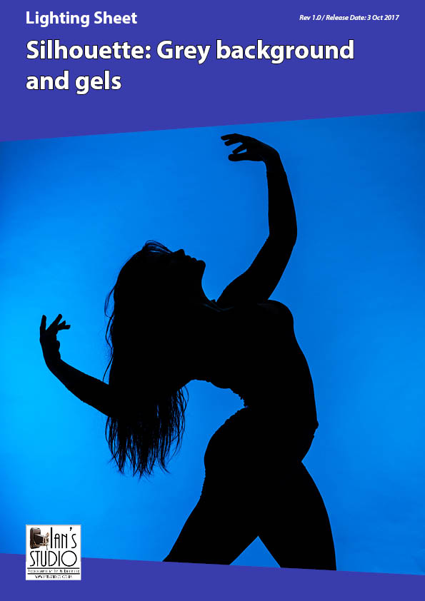 Lighting Sheet: Silhouette – Grey background and gels