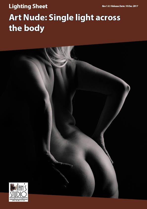 Lighting Sheet: Art Nude -Single light across the body
