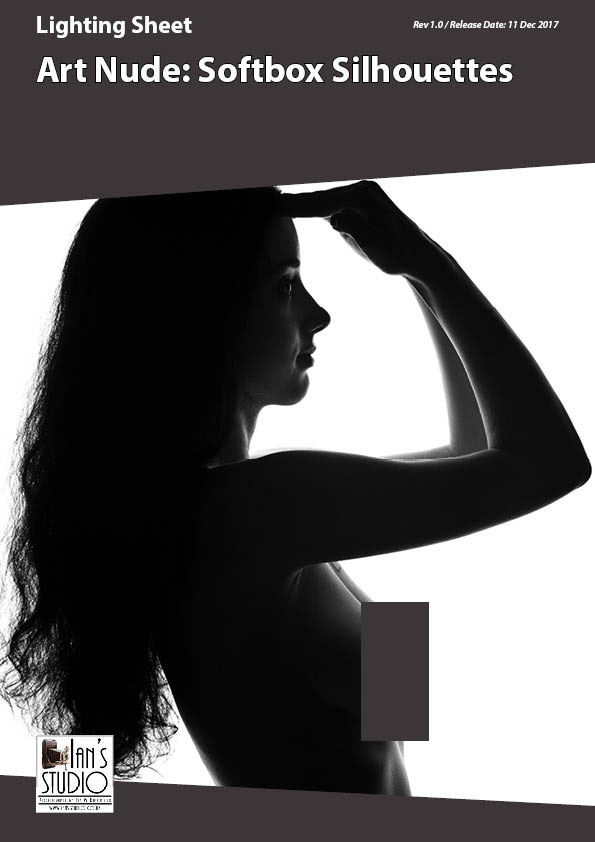 Lighting Sheet:  Art Nude – Softbox Silhouettes