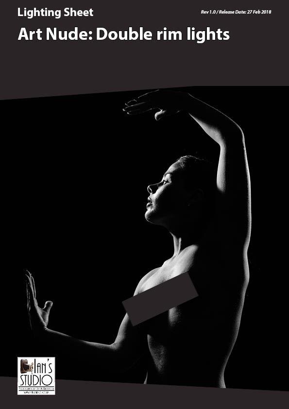 Lighting Sheet: Art Nude – Double Rim Lights
