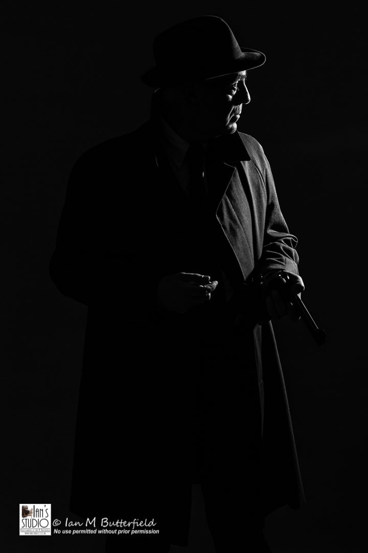 ACADEMY BITE: Studio Portraits #4 – Graham at Film Noir Night