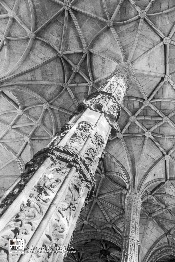 ACADEMY BITE: Lessons from the South America Cruise #3 – The ceiling of the church in the Mosteiro dos Jeronimos