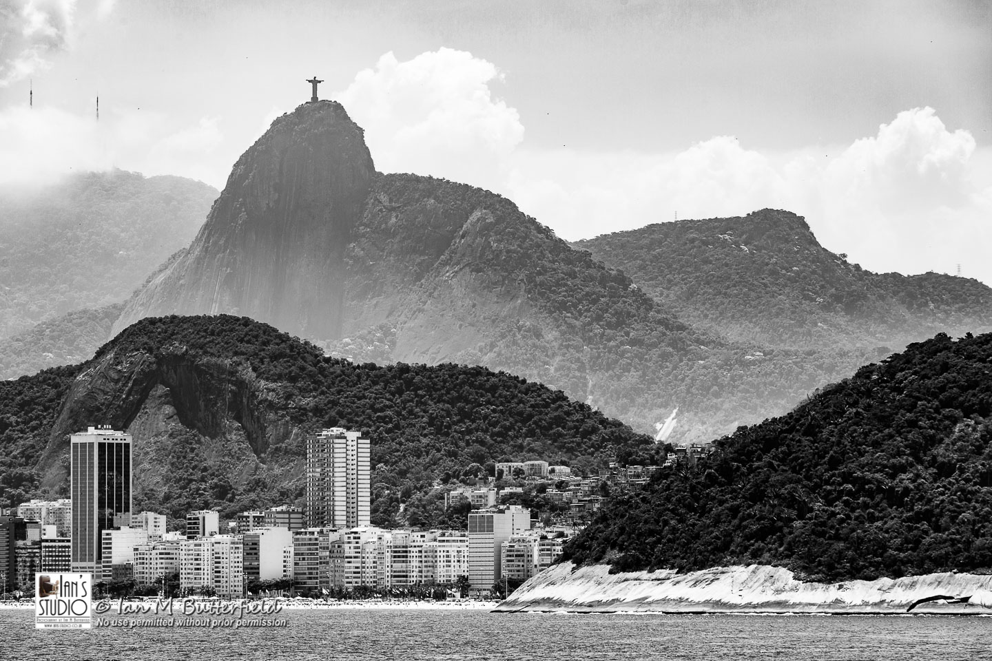 ACADEMY BITE: Lessons from the South America Cruise #21 – Christ the Redeemer statue on Corcovado Mountain seen from Guanabara Bay