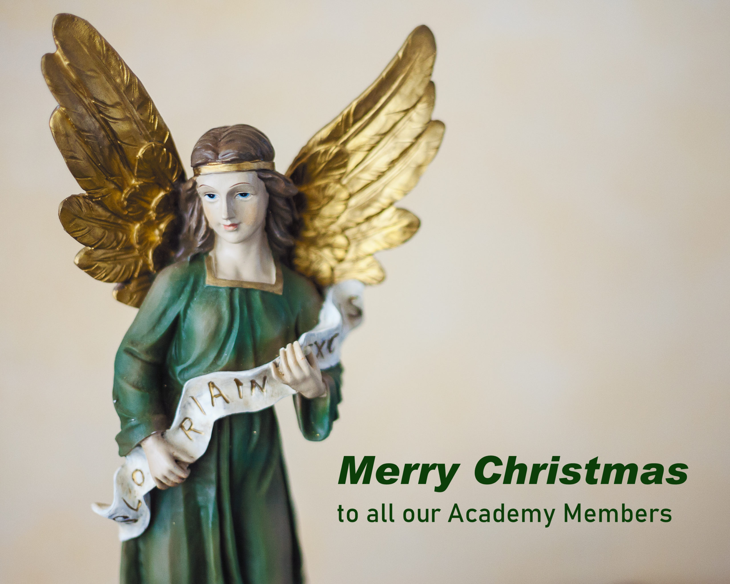 ACADEMY BITE: Christmas Ideas #7 – Merry Christmas