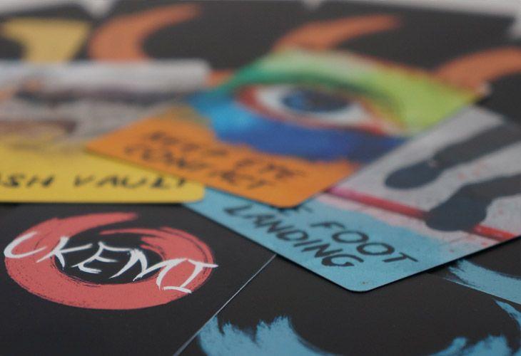 Ukemi card game Rules