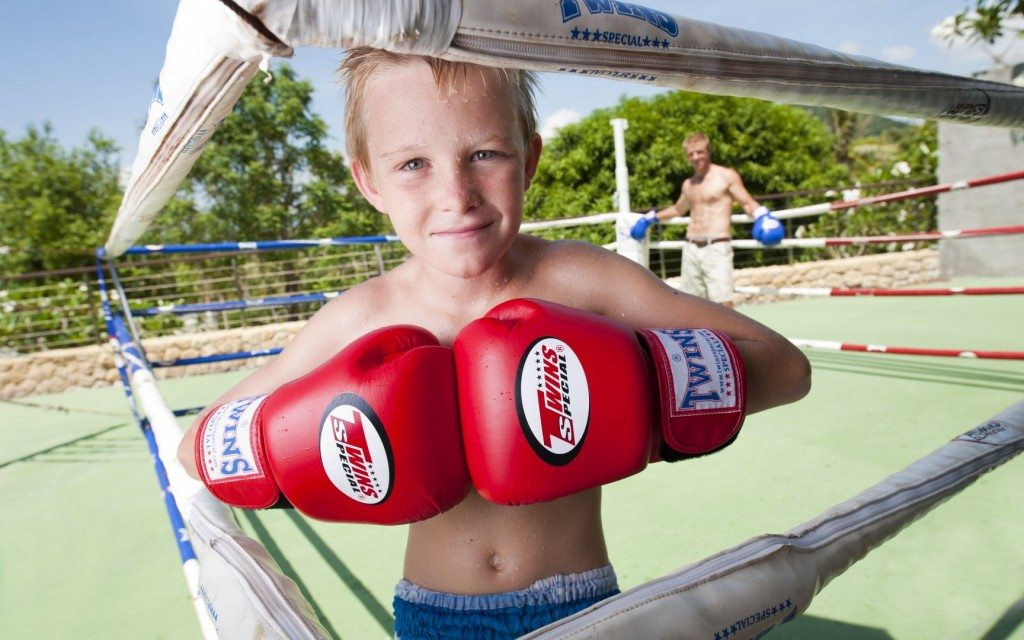 samujana-villa-12-boxing-ring