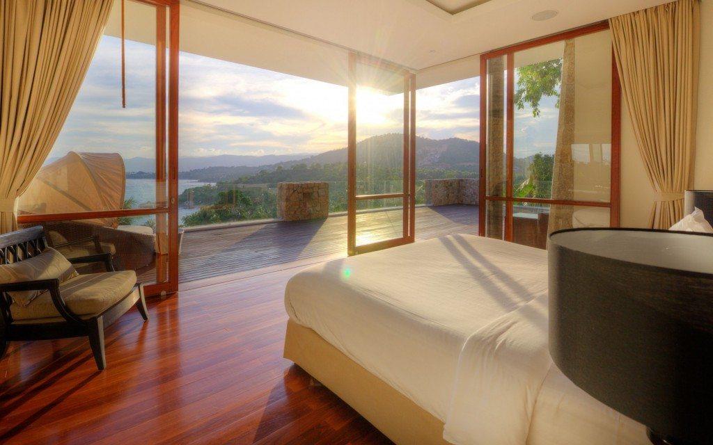 samujana-villa-6-master-bed-sunset