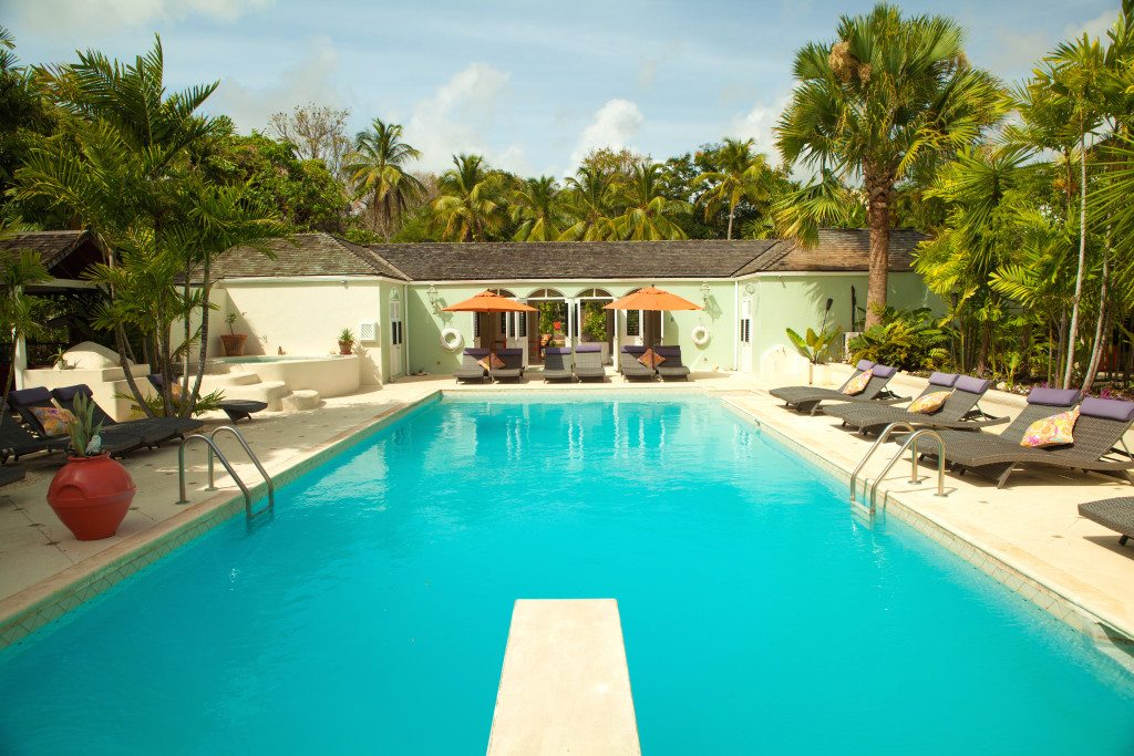 Bon Vivant, in Barbados, comes with a 50-foot pool and a private beach.