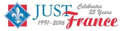 Just France Anniversary logo